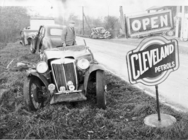 Lone Pine Garage Circa 1950